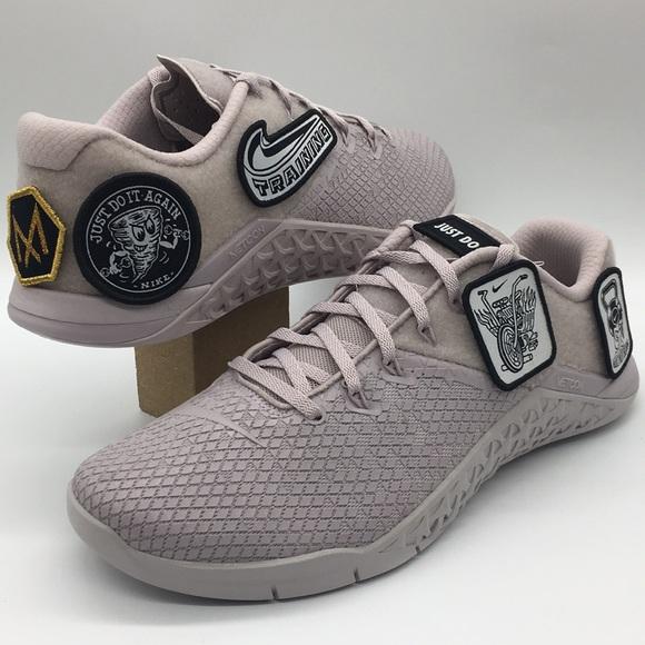 Wmns Nike Metcon 4 Xd Patch Violet Ash